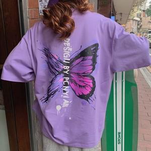 【トップス】ファッション半袖ラウンドネックプルオーバーTシャツ31308707