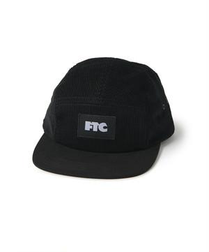 FTC / CORDUROY CAMP CAP -BLACK-