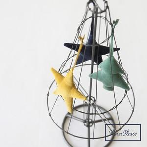 velvet ornament star