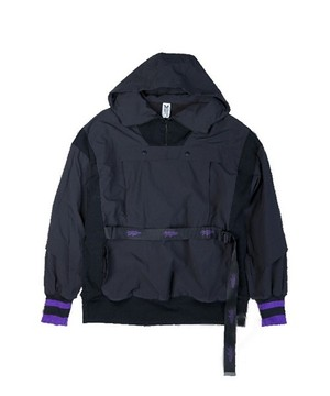 NYLON BLOUSON / BLACK