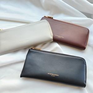 〈ファッション雑貨〉【 JOUET / ジョエット 】 レザーライク ロング ウォレット / 長財布