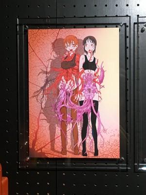 ◆受注生産◆「妖影少女異聞」掘骨砕三 直筆サイン入り複製原画