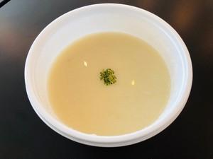 高崎産新玉葱の冷製スープ