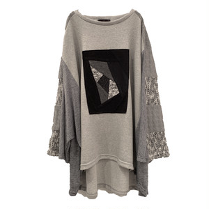 Wide-T-shirts SP (grey)