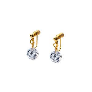 Bare Gem Clip-on Earrings