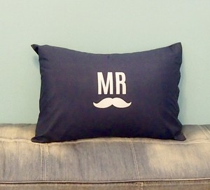 MR PILLOW CASE [NAVY]
