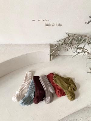 monbebe / リブソックスセット
