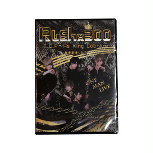 【Rush×300】T.O.P~As King Cobra~発売記念LIVE☆DVD《通常販売》