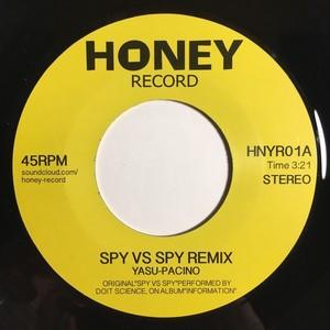 SPY  VS SPY  REMIX / Yasu-Pacino (7inch vinyl)