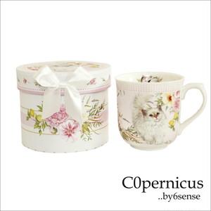 Gift Box付きマグカップ White C0pernicus