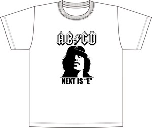 AB⚡︎CD Tシャツ