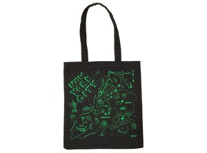 MAP TOTE / NEW YORK CITY Black