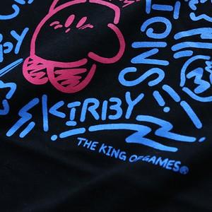 星のカービィ Congratulations Tシャツ  (ブラック)  / THE KING OF GAMES