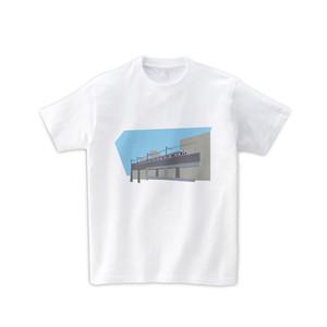 電車Tシャツ-高架