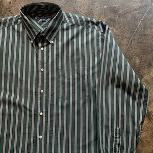 TOMMY HILFIGER トミーヒルフィガー ストライプシャツ XL