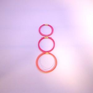 【送料無料】 三線用 カラー弦 ピンク
