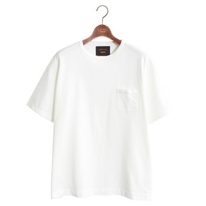 One Pocket Loose Tee -White