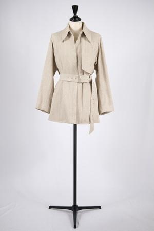 【KOTONA】trench shirt coat