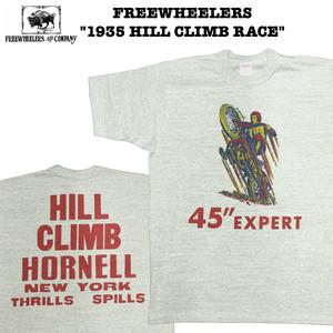 """1935 HILL CLIMB RACE"" FREEWHEELERS/フリーホイーラーズ POWER WEAR/パワーウェア #1925022 Tシャツ"