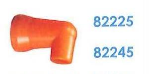 """82245 汎用クーラントホース1/4"""" 1/4""""90°ノズル"""