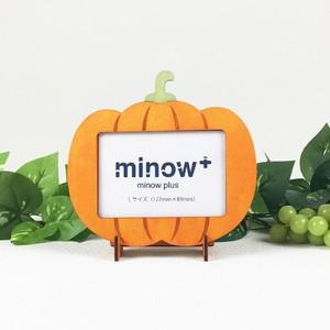 「かぼちゃ」木製写真立て