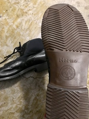 German: leather deck boots (used)