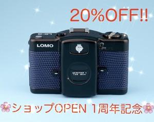LOMO LC-A テスト用フィルム1本付き&現像代込み![ダークブルー]コンパクトフィルムカメラ (ロモ 35ミリ 135mm)
