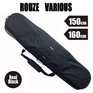 ROUZE 3WAYスノーボードバッグ VARIOUS リアルブラック スノーボードケース バックパック ショルダーバッグ