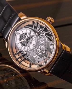 【JAQUET DROZ ジャケ・ドロー】GRANDE SECONDE SKELET-ONE RED GOLD グラン・セコンド スケルトン(レッドゴールド)/国内正規品 腕時計