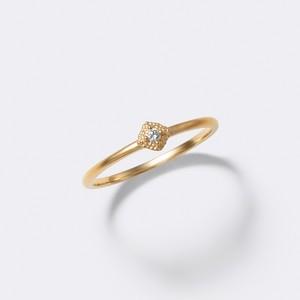 Spuma Ring K18YG(スプーマリング K18イエローゴールド)