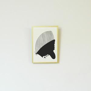 【受注制作】版画/Butterfly/A4サイズ/フレームなし, Prints/Butterfly/Unframed