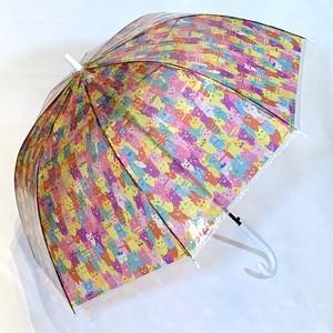 【ai sayama】ビニール傘「ねこだらけ」
