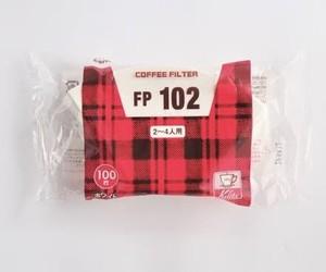 Kalita カリタ コーヒーフィルターFP 102 2〜4杯用