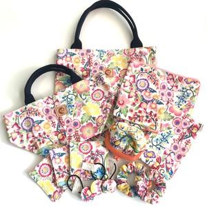 HAPPY  BAGだニャン( gruppo )沖縄の花たち ピンク