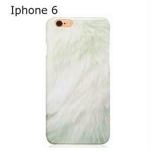 Cases we love ケイシーズウィラブ オランダ の iphone 6 case SO FLUFFY WHITE フラッフィー ホワイト アイフォン シックス ケース 日本未 正規 海外 ブランド