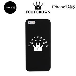 iPhone7 対応 ハード型スマホケース 【デザイン0:フットクラウンロゴケース】