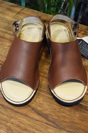 Water repellent leather sadals 撥水レザーサンダル