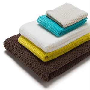 Fiber Art Studio  Half Cut Towel / Hand Towel