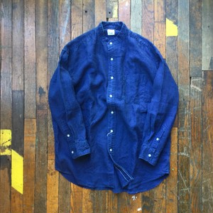 orslow / Loose fit stand collar shirt