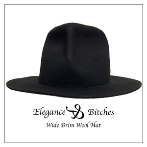 Wide Brim Wool Hat (20% OFF!!)