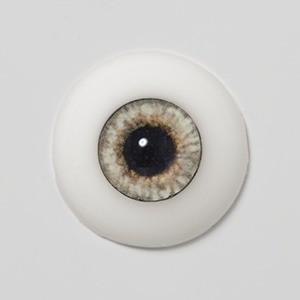 Silicone eye - 19mm Silver Fox