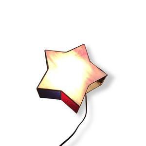 【星形 ステンド ライト(置き型照明)】
