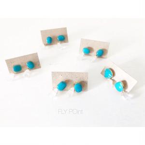 - turquoise 2way point pierce -