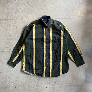 "NAUTICA ""stripe shirt 90's"""