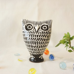 427 リトアニア 陶器の笛/フクロウ