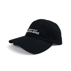 KP TOKYO - STRESSED OUT CAP (Black)