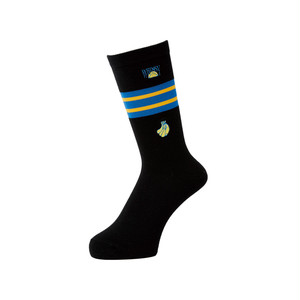 WHIMSY - 32/1 FRESH DELIVERY SOCKS (Black)