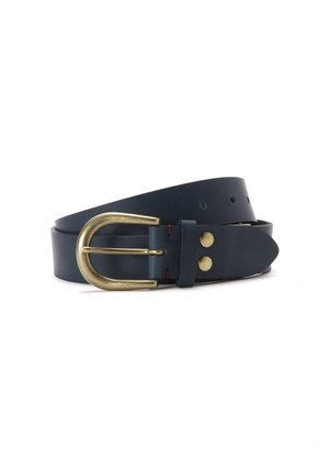 FRED PERRY:LEATHER ADJUSTABLE BELT