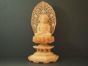 木彫り 本尊 ◆ 座阿弥陀如来 2.5寸