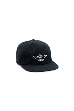Quartersnacks 40 YEAR OLD CAP BLACK